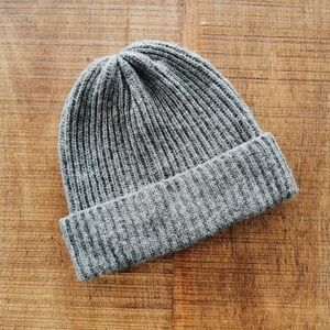 Vero Moda Grey Knit Toque